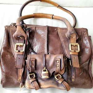 Chloé superb brown purse almost like new